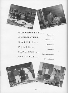 The Cypress Knee, 1957, Classes, pg. 18