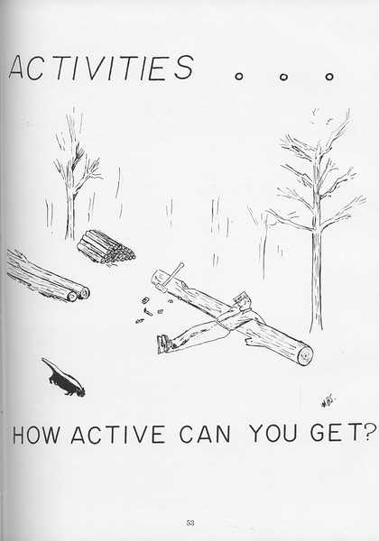 The Cypress Knee, 1957, Introduction to Activities, pg. 53