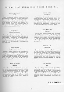 The Cypress Knee, 1957, Seniors, About the Seniors, pg. 33