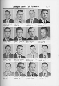 The Cypress Knee, 1958, Junior Class, Earl M. Garrett Jr., George R. Garris, Leon H. Harkins, Larry L. Hawley, Dillard F. Helmly, Albert S. Johnson, Robert E. Kelly, Jon P. Liles, Marvin H. Lovin, Archie T. Mauldin, Joseph W. Maxwell, Travis H. McDaniel, Billy P. Miles, Roswell D. Morgan, Rovert E. Mosteller, Robert N. Murphy, pg. 31