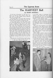 The Cypress Knee, 1958, The Harvest Ball, Henry Swindell, pg. 50