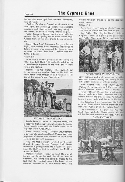 The Cypress Knee, 1958, Sophomore Camp, pg. 46