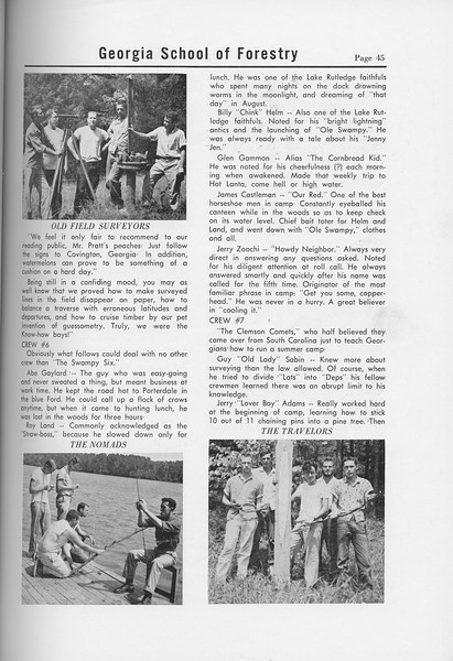 The Cypress Knee, 1958, Sophomore Camp, pg. 45