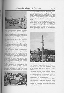 """The Cypress Knee, 1959, """"Forsestry School Conclave..."""" (continued), pg. 45"""