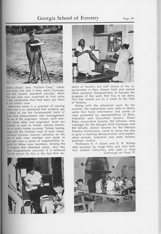 The Cypress Knee, 1959, Sophomore Camp (continued), pg. 49