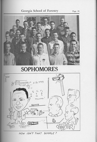 The Cypress Knee, 1959, Sophomore Class, pg. 35