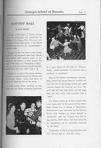 The Cypress Knee, 1959, Harvest Ball, Larry Hawley, pg. 43