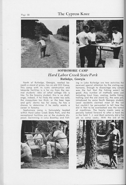 The Cypress Knee, 1959, Sophomore Camp, pg. 48