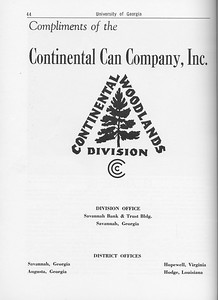 The Cypress Knee, 1962, Continental Can Company Inc., pg. 44