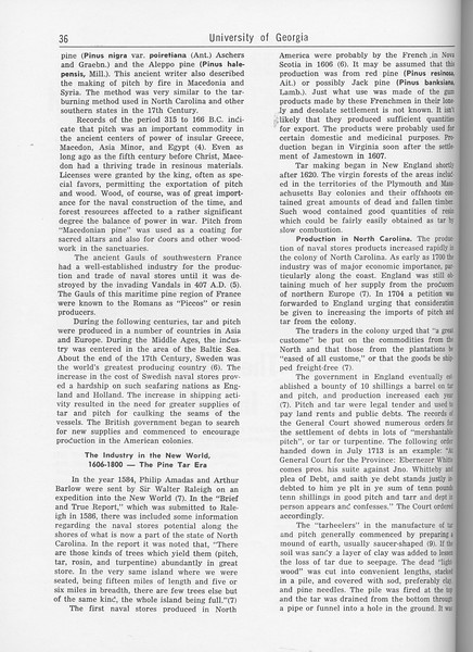 """The Cypress Knee, 1962, """"History of the Gum Naval Stores Industry"""", C. Dorsey Dyer, pg. 36"""