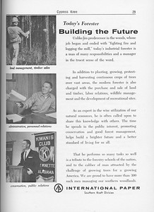 The Cypress Knee, 1962, Internaional Paper Southern Kraft Division, pg. 29