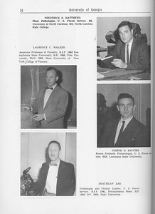 The Cypress Knee, 1962, Forestry Faculty and U. S. Forest Service Research Staff, Laurence C. Walker, Bratislav Zak, Frederick R. Matthews, Joseph R. Saucier, pg. 16
