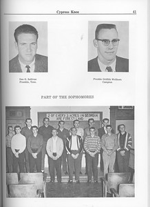 The Cypress Knee, 1963, Sophomore Class, pg. 14