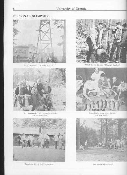"""The Cypress Knee, 1963, """"Personal Glimpses"""", photo collage, pg. 8"""