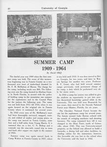 "The Cypress Knee, 1965, ""Summer Camp 1909-1964"", David Ollif, pg. 40"