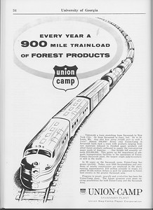 The Cypress Knee, 1965, Union Bag-Camp Paper Corporation, pg. 34
