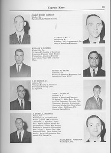 The Cypress Knee, 1965, Julian Dwain Jackson, C.  Kent Jewell, William W. Lester, Ernest M. Kenny, I. M. Kimsey Jr., John L. Lambert, J. Dewell Lawrence, Hamilton E. Johnston, pg. 23