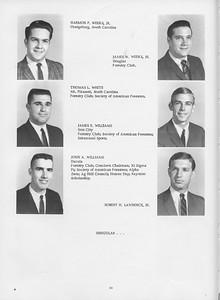 The Cypress Knee, 1966, Harmon P.  Weeks Jr., James W. Weeks Jr., Thomas L. White, James E.  Williams, John A. Williams, Robert H. Lawrence, pg. 24