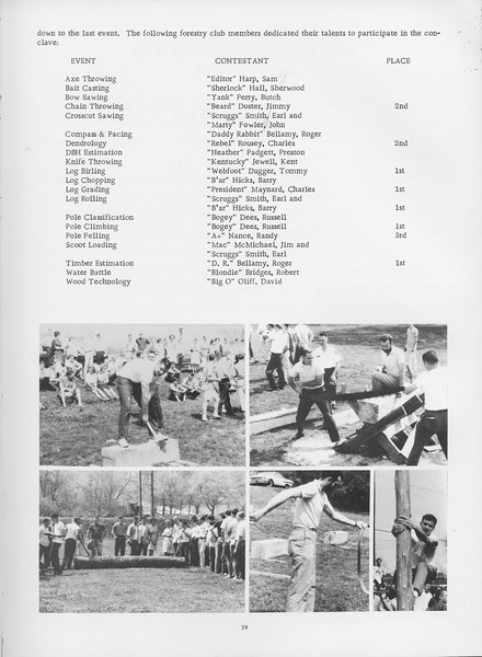 The Cypress Knee, 1966, Conclave 1965 (continued), pg. 39
