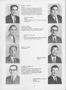 The Cypress Knee, 1966, Seniors, James L. Chance, James L. Clarke, Wade F. Clark, Edward H. Clay Jr., Bobby G. Doster, James H. Doster, Samuel O. Drake Jr., Christopher J. Dunn Jr., pg. 18