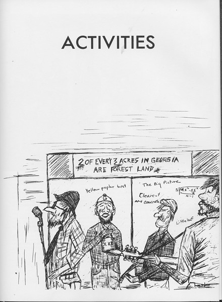 The Cypress Knee, 1966, Introduction to Activities, pg. 29
