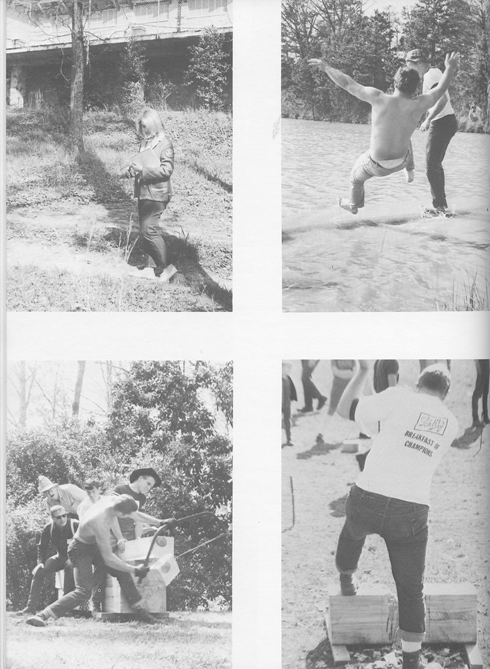 The Cypress Knee, 1968, Conclave 1967, pg. 38