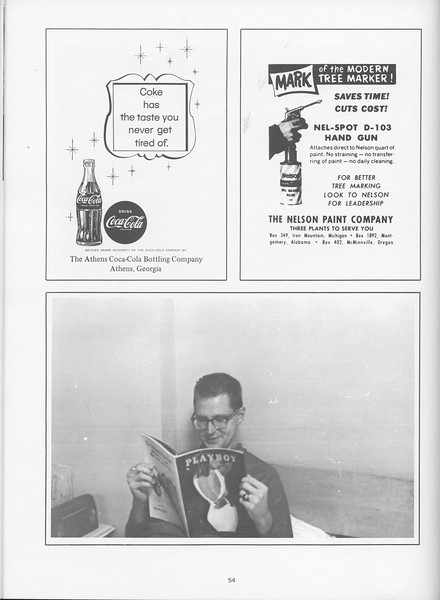 The Cypress Knee, 1968, Coca-Cola, The Nelson Paint Company, pg. 54