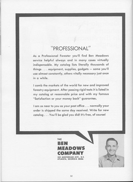 The Cypress Knee, 1968, Ben Meadows Company, pg. 52