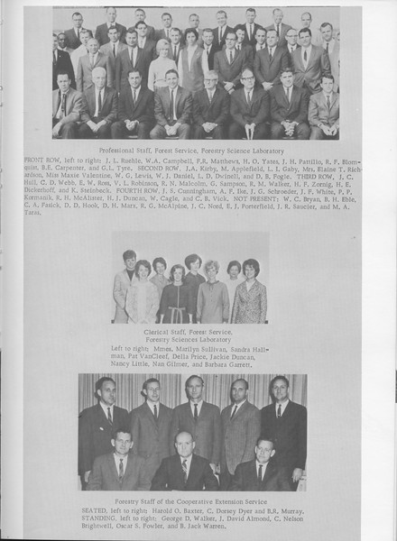 The Cypress Knee, 1968, Faculty and Research Staff, pg. 15