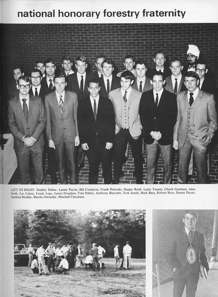 The Cypress Knee, 1970, National Honorary Forestry Fraternity, pg. 39