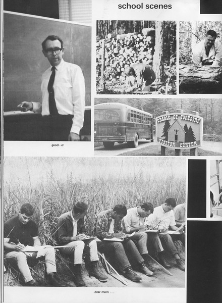 "The Cypress Knee, 1970, ""School Scenes"", pg. 46"