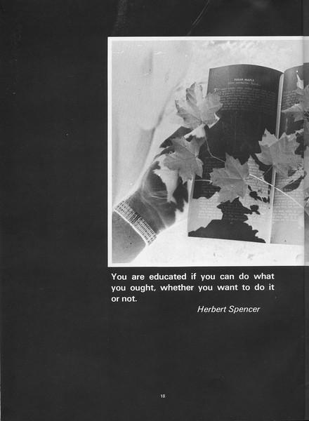 The Cypress Knee, 1970, Herbert Spencer, pg. 18