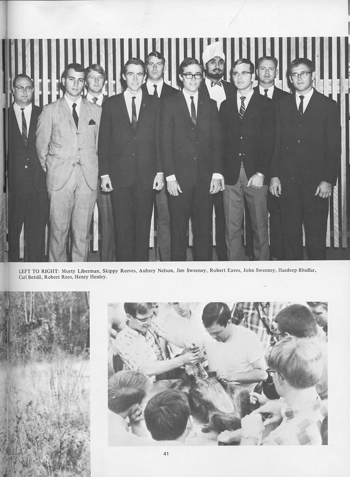 The Cypress Knee, 1970, The Wildlife Society, pg. 41