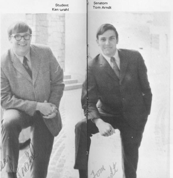 The Cypress Knee, 1970, Achievments, Ken Grahl, Tom Arndt, pg. 15