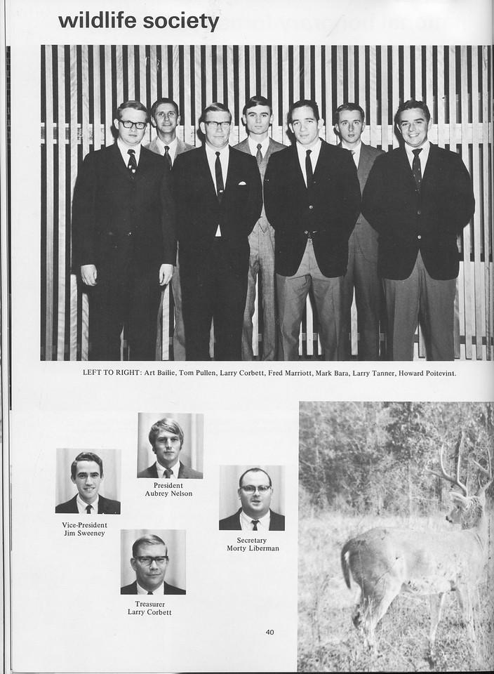 The Cypress Knee, 1970, Wildlife Society, pg. 40
