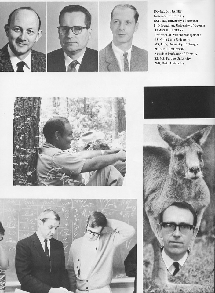 The Cypress Knee, 1970, Faculty and Staff, Donald J. Janes, James H. Jenkins, Philip L. Johnson, pg. 10