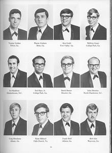 The Cypress Knee, 1971, Seniors, Tommy Golden, Wayne Graham, Ken Grahl, Willfrey Grant, Joe Hamilton, Ted Hays Jr., David Heeter, John Hendrix, Craig Henriksen, Parks Hiliard, Frank Huff, Bob Izlar, pg. 19