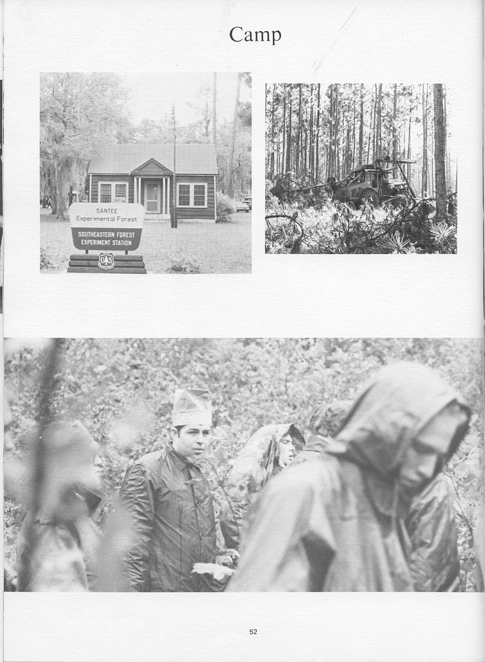 "The Cypress Knee, 1971, ""Camp"" Photos, pg. 52"