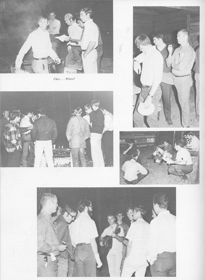 The Cypress Knee, 1971, Xi Sigma Pi, pg. 44