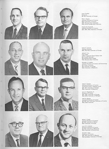 The Cypress Knee, 1971, Forestry Faculty, Larry Crawley, Peter J. Dyson, Charles H. Fitzgerald, James C. Fortson, Alfred C. Fox, Rudolph T. Franklin, James T. Greene, Leon A. Hargreaves, John D. Hewlett, Melvin T. Huish, Lyle W. R. Jackson, Donald J. James, pg. 9