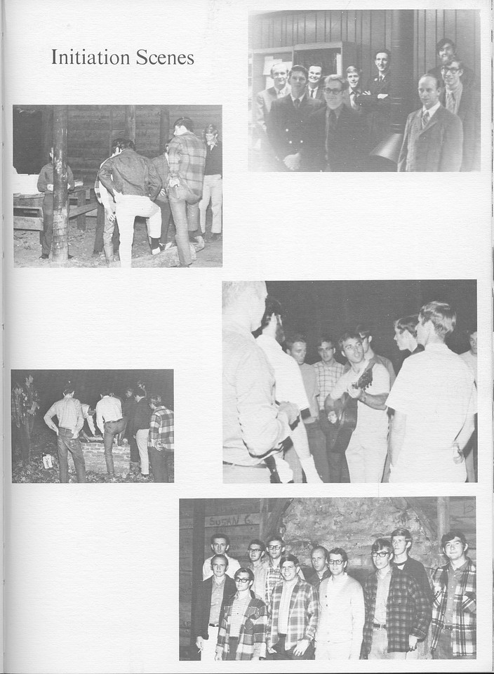 "The Cypress Knee, 1971, ""Initiation Scenes"", pg. 45"