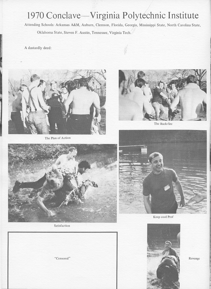 The Cypress Knee, 1971, 1970 Conclave-Virginia Polytechnic Institute, pg. 48