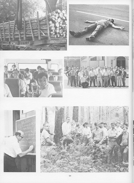 "The Cypress Knee, 1971, ""Camp"" Photos, pg. 54"