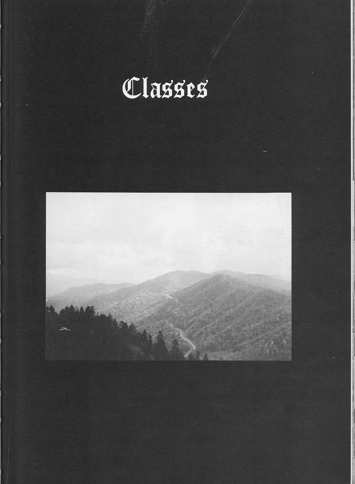 The Cypress Knee, 1971, Introduction to Classes, pg. 15