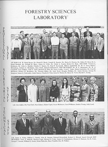 The Cypress Knee, 1971, Forestry Sciences Laboratory Faculty and Staff, pg. 13