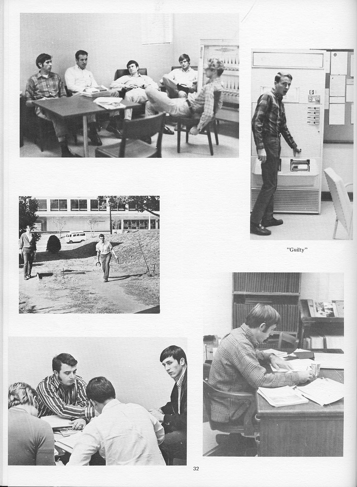 The Cypress Knee, 1971, Underclassmen Miscellaneous Photos, pg. 32