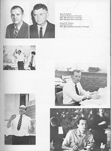 The Cypress Knee, 1971, Forestry Faculty, Klaus STeinbeck, Samuel W. Thacker, pg. 11