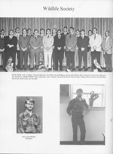 The Cypress Knee, 1971, Wildlife Society, Derry Stockbridge, pg. 46