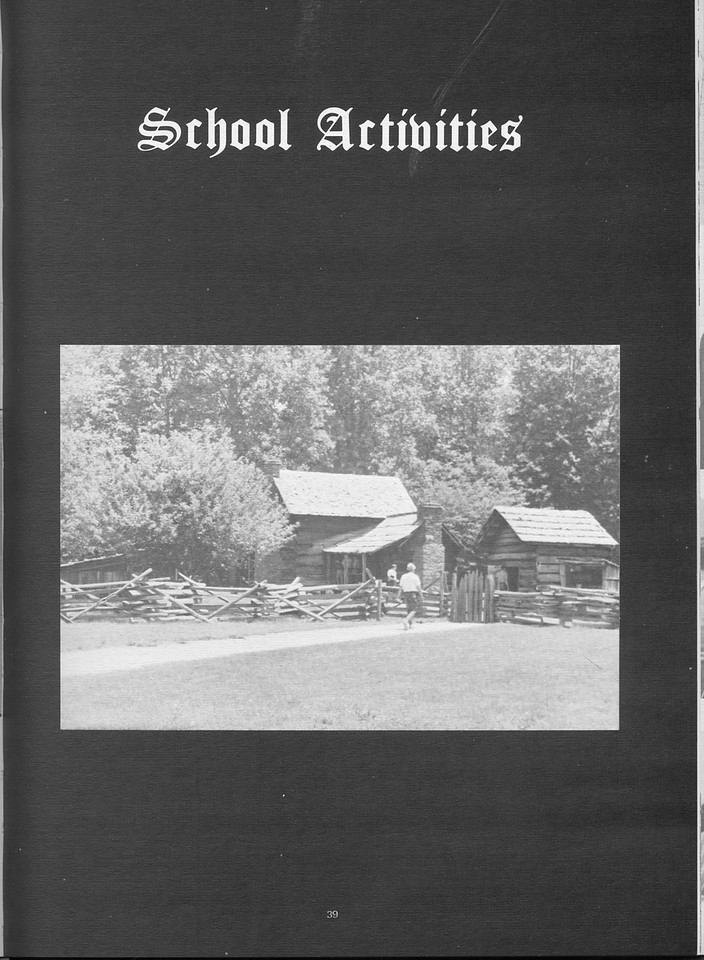 The Cypress Knee, 1971, School Activities Introduction, pg. 39