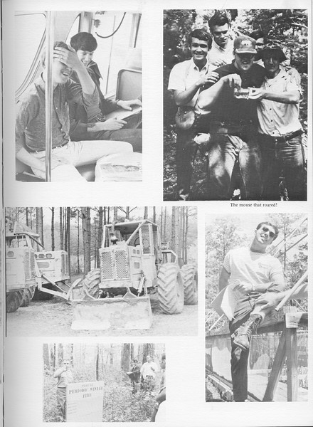 "The Cypress Knee, 1971, ""Camp"" Photos, pg. 53"